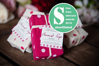 EMMA'S SOAP GETS SHORTLISTED!